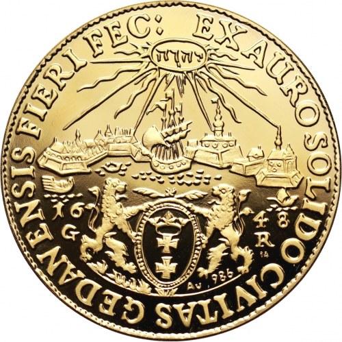 Poland, Wladyslaw IV Vasa, Donatywa 1648, Danzig, REPLICA