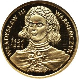 III RP, 100 złotych 2003, Władysław III Warneńczyk