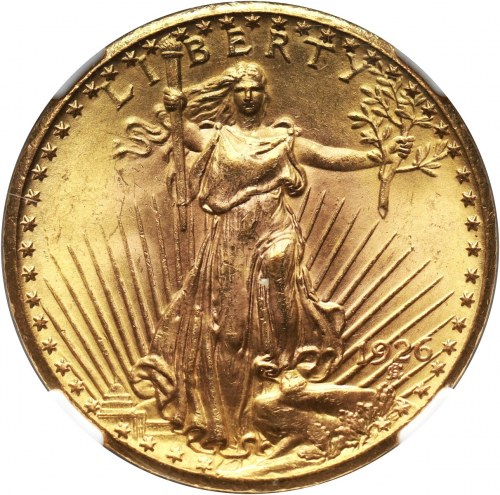 USA, 20 Dollars 1926 (TDO FS-101), Philadelhia
