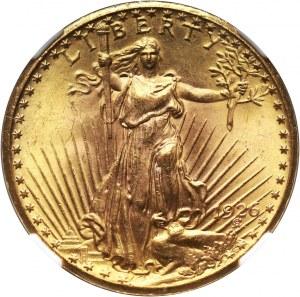 Stany Zjednoczone Ameryki, 20 dolarów 1926 (TDO), Filadelfia