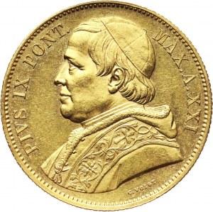 Watykan, Pius IX, 100 lirów 1866 XXI R, Rzym