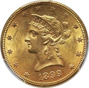 Stany Zjednoczone Ameryki, 10 dolarów 1899 S, San Francisco
