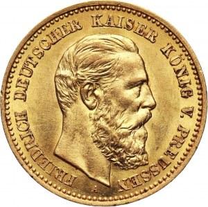 Niemcy, Prusy, Fryderyk III, 10 marek 1888 A, Berlin