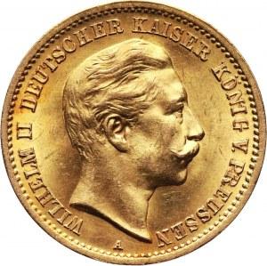 Niemcy, Prusy, Wilhelm II, 10 marek 1907 A, Berlin