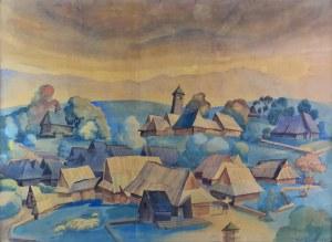 Władysław SKOCZYLAS (1883-1934), Wioska podhalańska, 1930