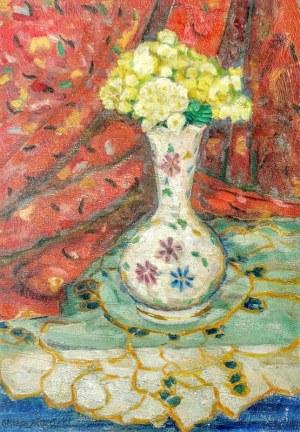 Ottokar SKIBIŃSKI (1900-1980), Kwiaty w wazonie