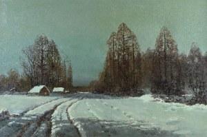 Wiktor KORECKI (1890-1980), Nokturn zimowy