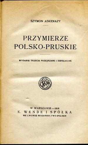 Przymierze polsko- pruskie Askenazy