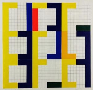 Krystyn ZIELIŃSKI (1929-2007), XXIX, z cyklu: Ikonostas, 1968