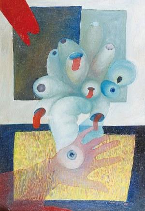 Jan IWANIUK (1943-1992), Osaczenie,1985
