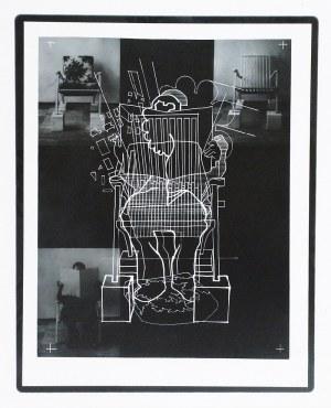 Ireneusz PIERZGALSKI (1929 - 2019), Czytający + fotele - ciąg dalszy 2, 1976