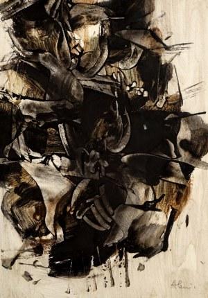 Alfred Lenica (1899 Pabianice - 1977 Warszawa), Abstrakcja, 1961
