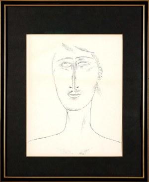 Jerzy Nowosielski (1923 Kraków - 2011 Kraków), Portret, 1984