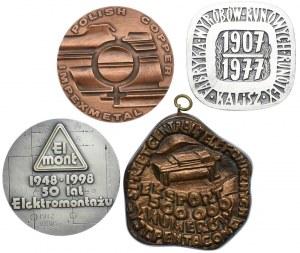 Zestaw medali Polska - PRL (4szt.)