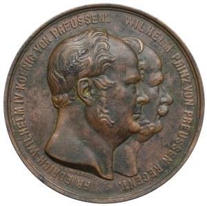 Medal Niemcy Otwarcie linii kolejowej