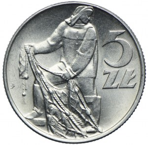 5 złotych 1974, Rybak