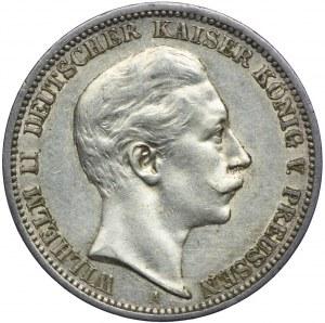 Niemcy, Prusy, 3 marki 1908 A