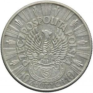 10 złotych 1934, Józef Piłsudski - Strzelecki