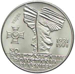 10 złotych 1971, 50 rocznica Powstania Śląskiego, PRÓBA, NIKIEL