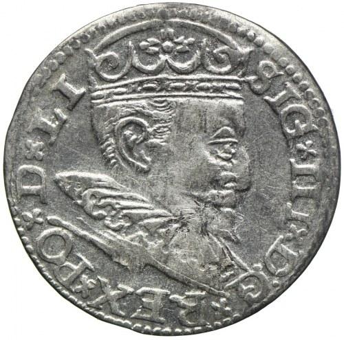 Zygmunt III Waza, trojak 1596, Ryga