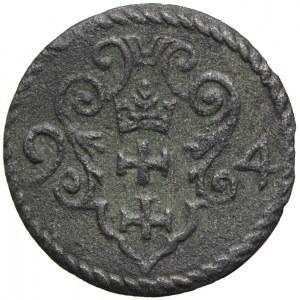 Zygmunt III Waza, denar 1594, Gdańsk