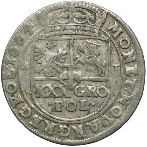 Jan II Kazimierz, tymf 1664 AT, Bydgoszcz