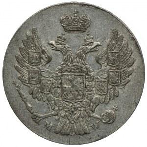 Królestwo Kongresowe, Mikołaj I, 5 groszy 1840 MW