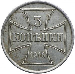 3 kopiejki 1916 A, Berlin