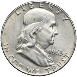 USA, 1/2 dolara 1963 D, Denver