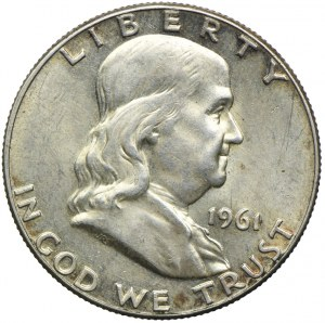USA, 1/2 dolara 1961