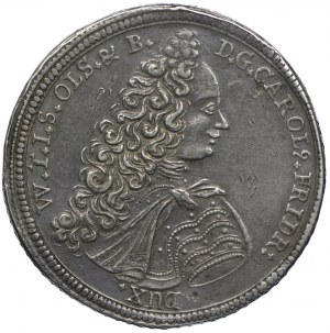 Śląsk, Księstwo Oleśnickie, Karol Fryderyk Oleśnicki, talar 1716