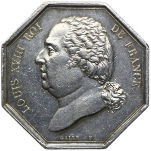 Medal, Francja Ludwik XVIII
