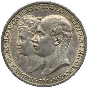 Niemcy, Meklenburgia-Szwerin, 2 marki 1904 A, Berlin