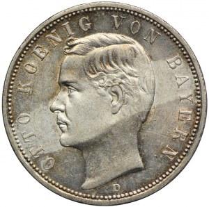 Niemcy, Bawaria, 5 marek 1913 D, Monachium