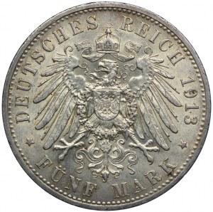 Niemcy, Prusy, 5 marek 1913 A, Berlin