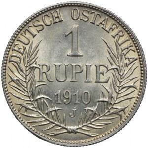 Niemiecka Afryka Wschodnia, 1 rupia 1910 J, Hamburg