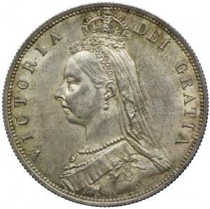 Wielka Brytania, 1/2 korony 1887
