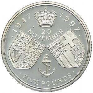 Wielka Brytania, 5 funtów 1997