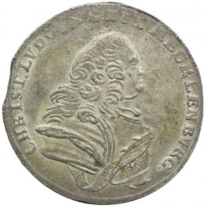 Niemcy, Meklenburgia-Szwerin, Krystian Ludwik II, 8 groszy 1754