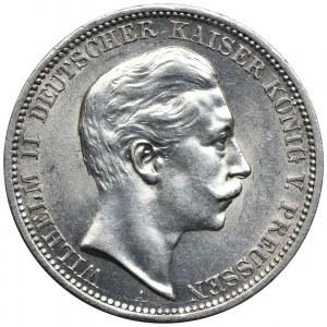 Niemcy, Prusy, 3 marki 1908 A, Berlin