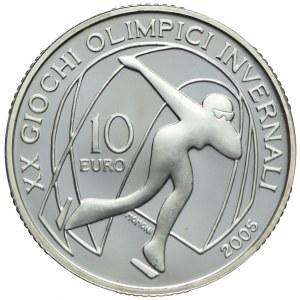 Włochy, 10 euro 2005, XX Zimowe Igrzyska Olimpijskie, Turyn 2006
