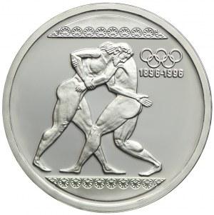 Grecja, 1000 drach 1996, 100-lecie Igrzysk Olimpijskich-Zapasy