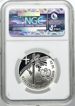 10 złotych 1999, Jan Paweł II, NGC PF69