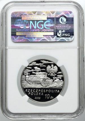 10 złotych 2003, gen. Stanisław Maczek, NGC PF69