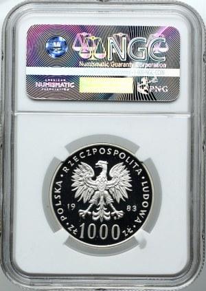 1000 złotych 1983, Jan Paweł II, NGC PF69