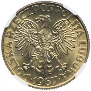 10 złotych 1967, Maria Skłodowska-Curie, NGC MS66