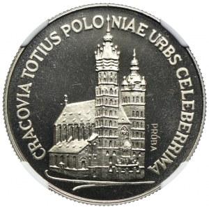 20 złotych 1981, Kościół Mariacki, PRÓBA NIKIEL, NGC MS67
