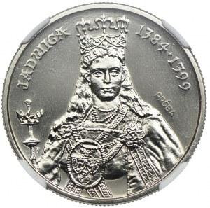 100 złotych 1988, Jadwiga, PRÓBA NIKIEL, NGC MS68