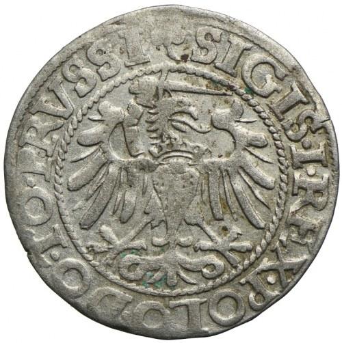 Zygmunt I Stary, grosz 1540, Elbląg