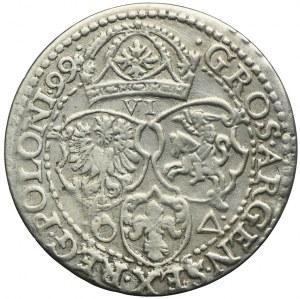 Zygmunt III Waza, szóstak 1599, Malbork